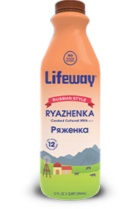 Lifeway Ryazhenka Kefir 32oz Bottle