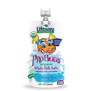 Pretty Plain Organic Whole Milk ProBugs Kefir