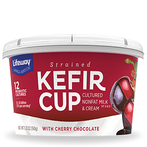 Cherry Chocolate Kefir Cup