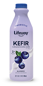 Blueberry Lowfat Kefir