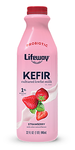 Strawberry Lowfat Kefir