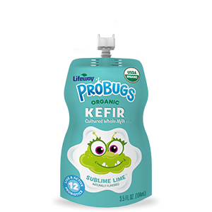 Organic Lime ProBugs Whole Milk Kefir