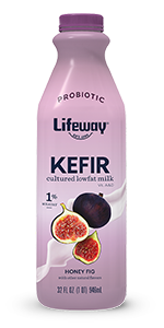 lifeway honey fig lowfat kefir