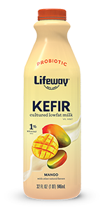 lifeway mango cultured lowfat milk kefir